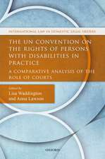 The UN Convention on the Rights of Persons with Disabilities in Practice: A Comparative Analysis of the Role of Courts
