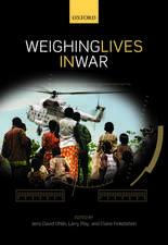Weighing Lives in War