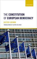 The Constitution of European Democracy