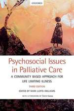 Psychosocial Issues in Palliative Care: A community based approach for life limiting illness