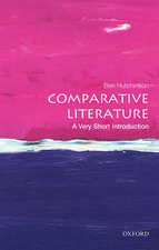 Comparative Literature: A Very Short Introduction