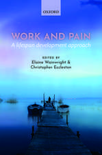 Work and pain: A lifespan development approach