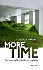More Time: Contemporary Short Stories and Late Style