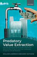 Predatory Value Extraction