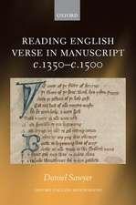 Reading English Verse in Manuscript c.1350-c.1500