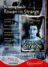 Rollercoasters: Rowan the Strange Reading Guide