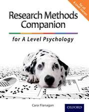 The Complete Companions: The Research Methods Companion for A Level Psychology