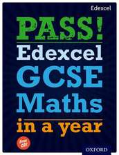 Pass Edexcel Gcse Maths in a Year:  English as a Second Language