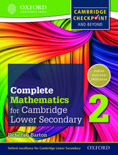 Complete Mathematics for Cambridge Lower Secondary 2