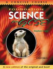 Foundation Science to GCSE