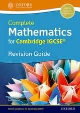 Complete Mathematics for Cambridge IGCSE® Revision Guide