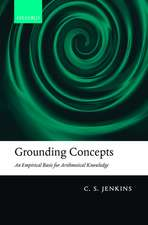 Grounding Concepts: An Empirical Basis for Arithmetical Knowledge