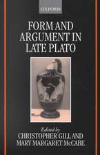 Form and Argument in Late Plato