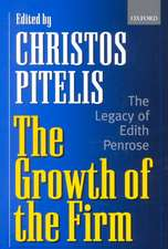 The Growth of the Firm: The Legacy of Edith Penrose