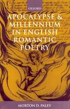 Apocalypse and Millennium in English Romantic Poetry