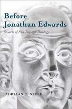 Before Jonathan Edwards