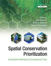 Spatial Conservation Prioritization: Quantitative Methods and Computational Tools