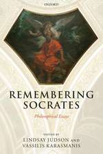 Remembering Socrates: Philosophical Essays