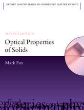 Optical Properties of Solids