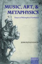 Music, Art, and Metaphysics