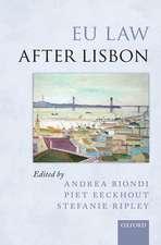 EU Law after Lisbon