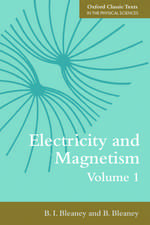Electricity and Magnetism, Volume 1