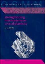 Strengthening Mechanisms in Crystal Plasticity