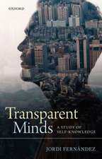 Transparent Minds: A Study of Self-Knowledge
