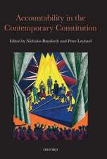 Accountability in the Contemporary Constitution