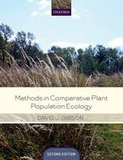 Methods in Comparative Plant Population Ecology