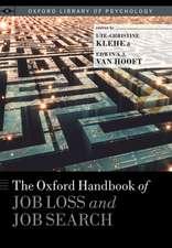 The Oxford Handbook of Job Loss and Job Search