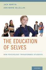 The Education of Selves: How Psychology Transformed Students