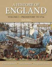 A History of England, Volume 1: Prehistory to 1714