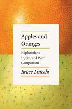 Apples and Oranges: Explorations In, On, and With Comparison