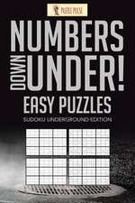 Numbers Down Under! Easy Puzzles