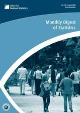 Monthly Digest of Statistics Vol 751, July 2008