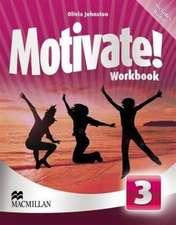 Motivate! Level 3 Workbook & Audio CD