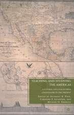 Teaching and Studying the Americas: Cultural Influences from Colonialism to the Present