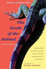 The Death of the Animal – A Dialogue