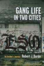 Gang Life in Two Cities – An Insider′s Journey