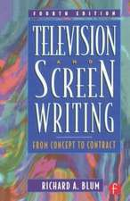 Television and Screen Writing