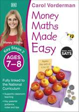 Money Maths Made Easy: Beginner, Ages 7-8 (Key Stage 2): Supports the National Curriculum, Maths Exercise Book