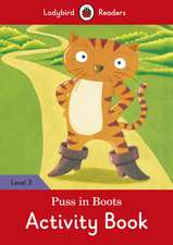 Puss in Boots Activity Book - Ladybird Readers Level 3