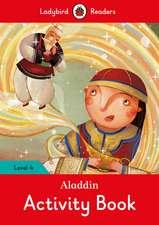 Aladdin Activity Book - Ladybird Readers Level 4