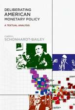 Deliberating American Monetary Policy – A Textual Analysis