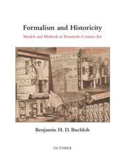 Formalism and Historicity – Models and Methods in Twentieth–Century Art