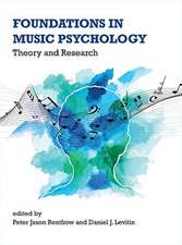Foundations in Music Psychology – Theory and Research