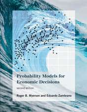 Probability Models for Economic Decisions