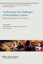 Confronting the Challenges of Participatory Culture – Media Education for the 21st Century