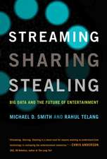 Streaming, Sharing, Stealing – Big Data and the Future of Entertainment